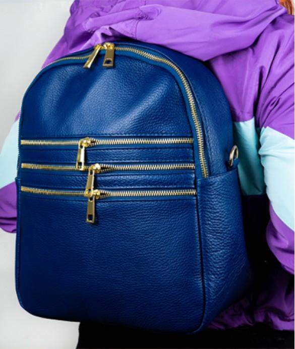 Albastru este culoare potrivita pentru rucsacul tau