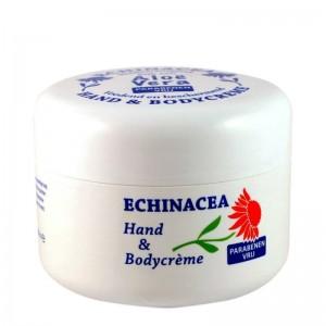 Crema de corp si maini cu Echinaceea si Aloe Vera Ingrijirea corpului