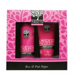 Set mare cu extract de Trandafir si Piper Roz