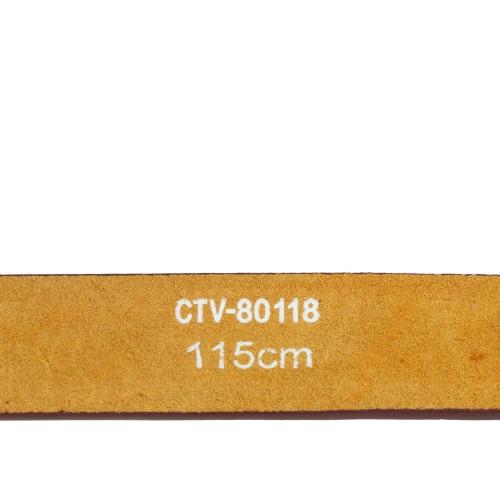 Curea piele naturala marsala cu strasuri CF050