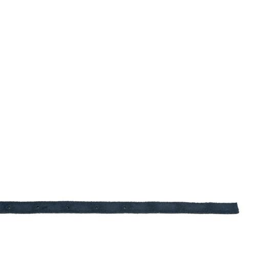 Curea piele naturala bleumarin cu strasuri CF076