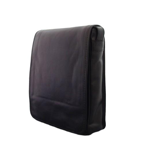 Geanta piele neagra GB012