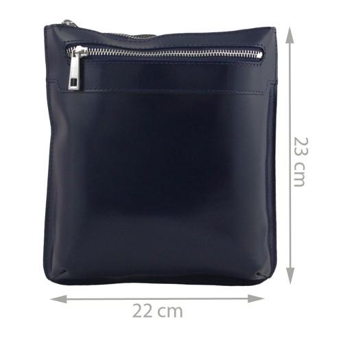 Geanta piele bleumarin GB020
