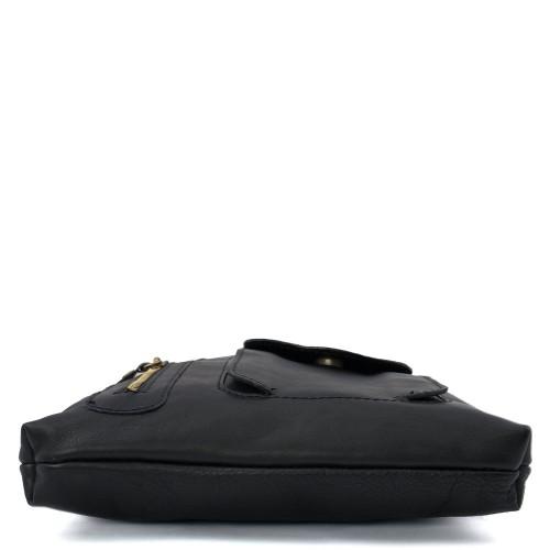 Geanta piele neagra GB065
