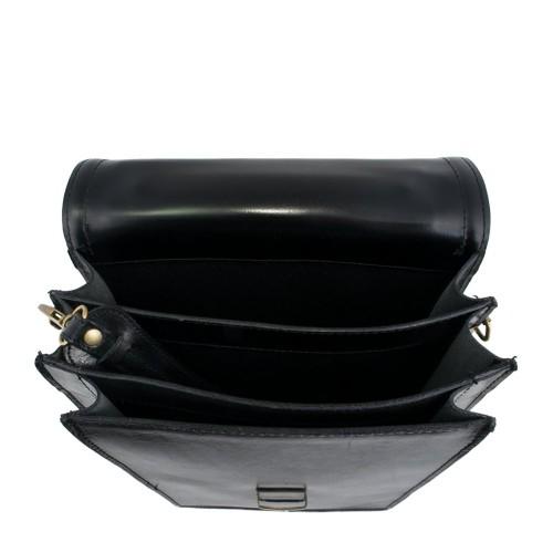 Geanta piele neagra GB071