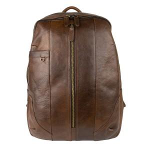 Rucsac piele naturala maro brun GB170
