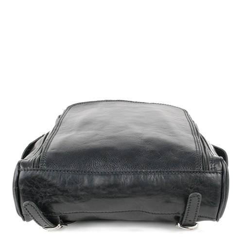 Rucsac piele neagra GB129