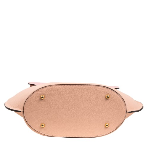 Geanta dama piele roz pal GF1425