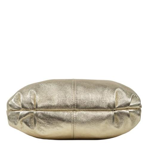 Geanta piele gold sidefat dama GF1599
