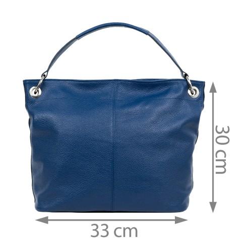 Geanta piele bleumarin GF1651
