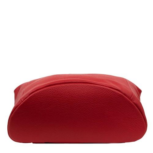 Rucsac piele rosie imprimeu paisley GF1654