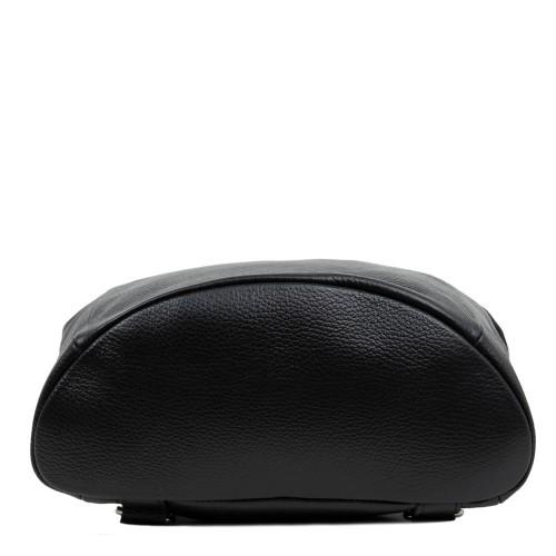Rucsac piele negru imprimeu paisley GF1655