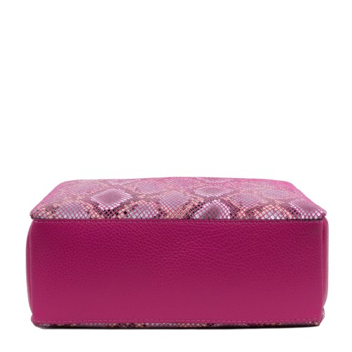 Gentuta imprimeu sarpe piele roz GF1731