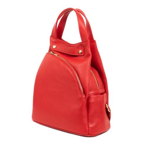 Rucsac tip geanta piele rosie GF1803
