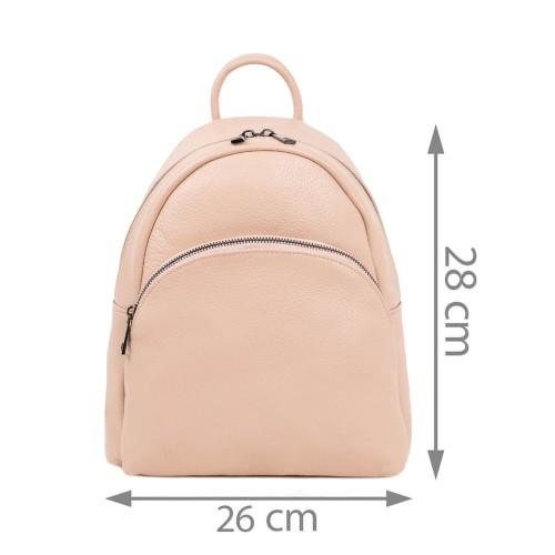 Rucsac dama piele roz prafuit GF1822