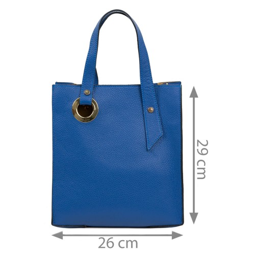 Geanta dama piele albastra GF1845