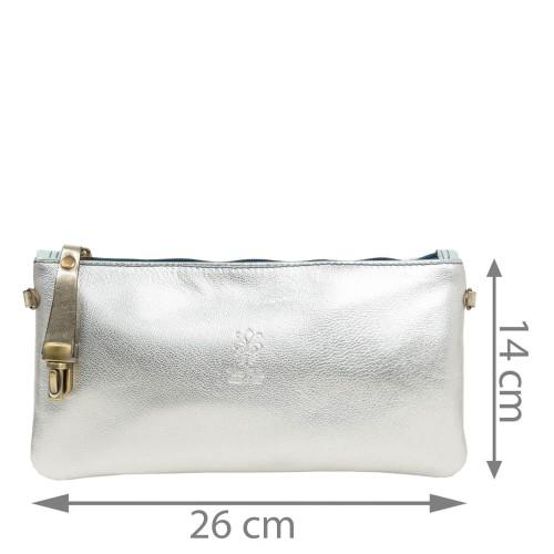 Plic dama piele silver GF1847