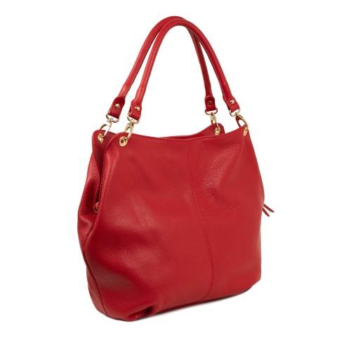 Geanta dama piele rosie GF1850