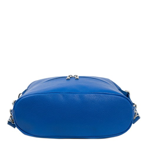 Geanta piele albastra tip rucsac GF1930