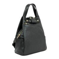 Rucsac tip geanta piele neagra GF1933