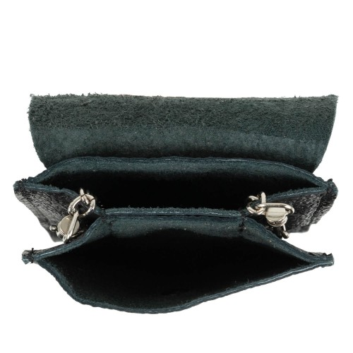 Gentuta mini piele neagra GF1954