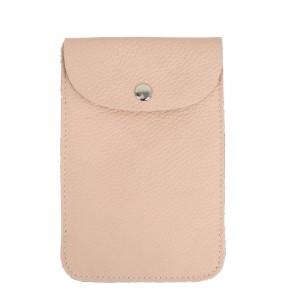 Gentuta mini piele roz prafuit GF1956