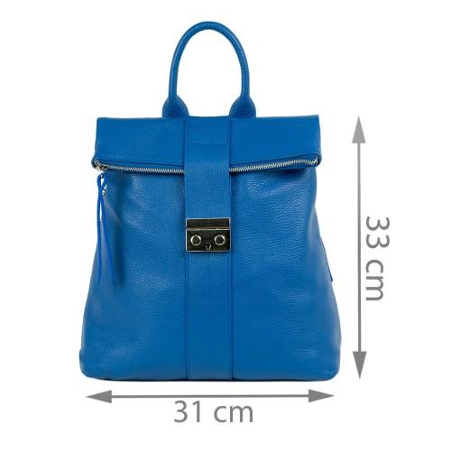 Rucsac dama piele albastru GF1993