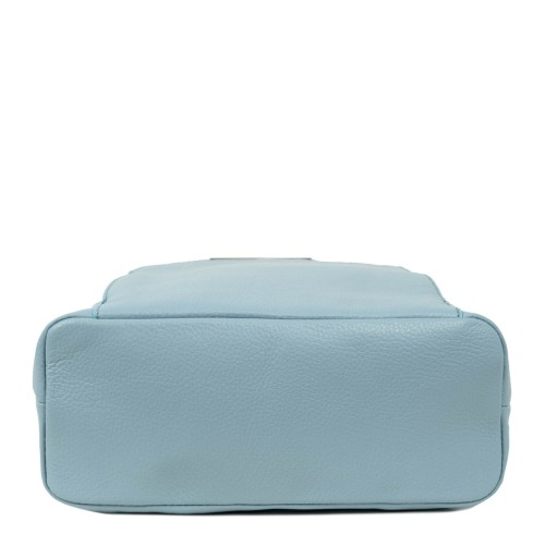 Rucsac dama piele naturala bleu deschis GF2010