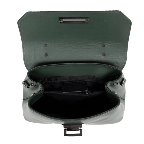 Geanta imprimeu sarpe verde inchis GF2026