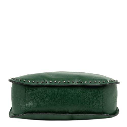 Geanta dama piele verde inchis GF2081