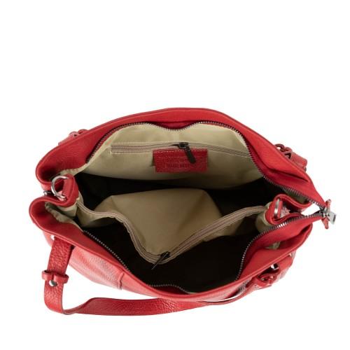Geanta dama piele rosie GF2105