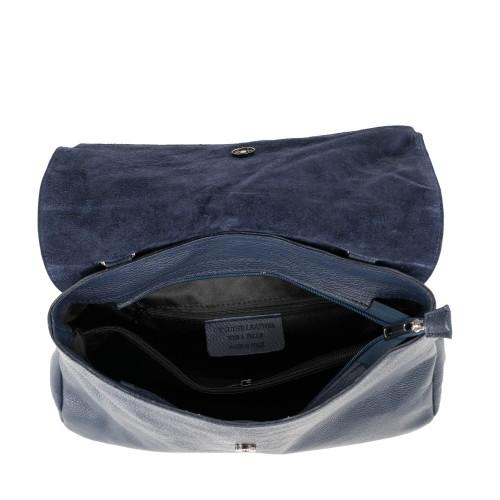 Geanta piele bleumarin GF2110