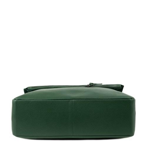 Geanta piele verde kaki GF2115