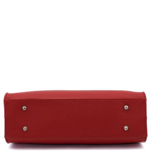Geanta piele rosie Model GF215 Genti Femei