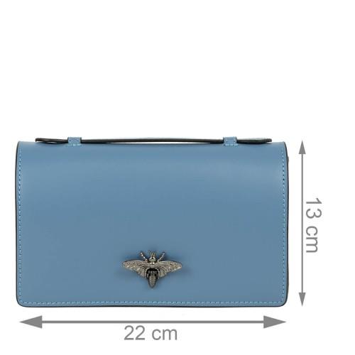 Gentuta piele bleumarin prafuit GF2182