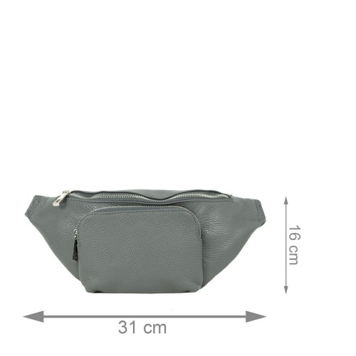 Borseta gri inchis GF2202