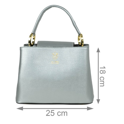 Gentuta dama piele argintie GF2206