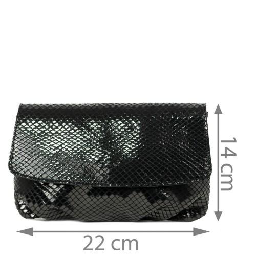 Plic piele negru GF2227