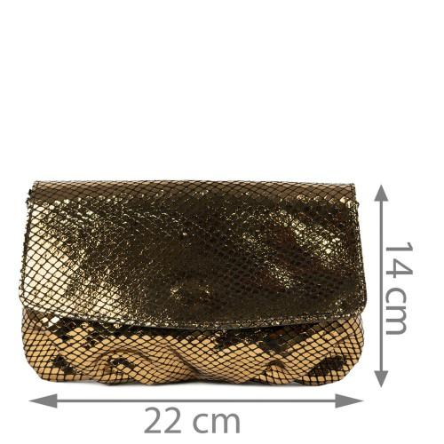 Plic piele bronze GF2231