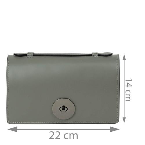 Gentuta piele gri GF2238