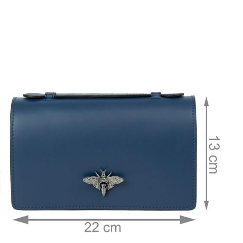 Gentuta piele bleumarin GF2243