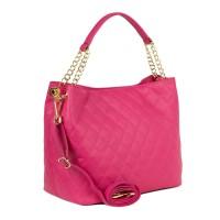 Geanta dama roz piele matlasata GF2257