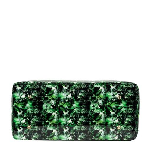 Geanta piele verde GF2258