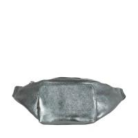 Borseta dama gri inchis sidefat GF2261