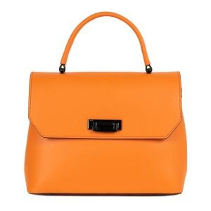 Geanta dama piele oranj GF2268