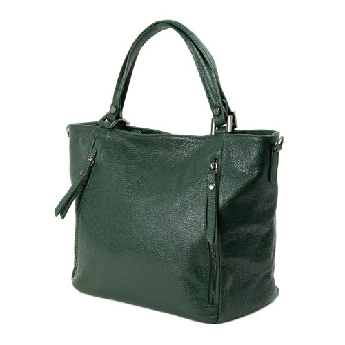 Geanta dama piele verde GF2283