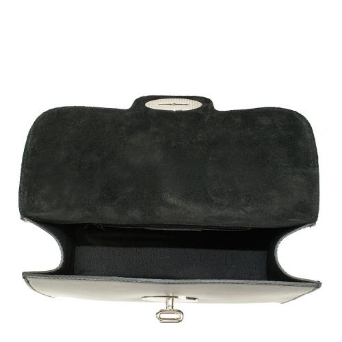 Geanta piele neagra GF233