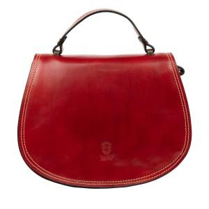 Geanta dama piele rosu inchis GF2361