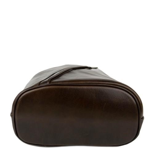 Rucsac dama piele maro brun GF2403