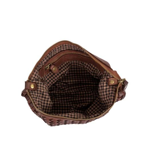 Geanta dama piele maro GF2429